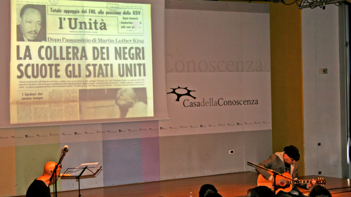 22 novembre - How Long Not Long ricorda Martin Luther King alle scuole superiori